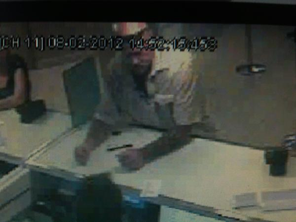 The FBI hopes surveillance pictures will lead them to the man who robbed a Citibank in Fort Lauderdale