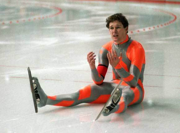 <b>The Olympian</b>: US speed skater Dan Jansen, who suffered heartbreak and loss before finally winning Gold in Lillehammer in 1994. <br><br>  <b>Hard-knock life</b>: Jansen's sister was dying of leukemia. He promised he'd win a gold for her. He finds out she died right before his first race. He falls and fails to keep his promise. <br> <b>Extra obstacle</b>: And he fell AGAIN in 1992! Even though he promised his sister! Who was DEAD! And then everyone gave up on him because they thought he was washed up! But he wasn't!<br> <b>And featuring</b>: Scott Speedman! <br>  <b>Should it air on Lifetime? </b>  Are you kidding? There's a PROMISE to a DEAD SISTER. And a happy ending! OF COURSE it should air on Lifetime!