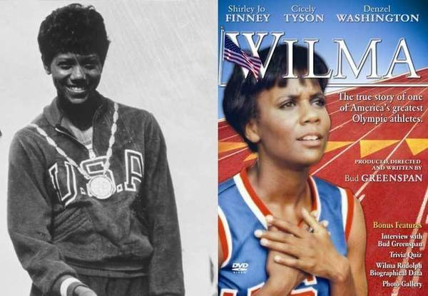 Stronger, Higher, Faster, Cheesier: The art of the Olympic biopic: The Olympian: US athlete Wilma Rudolph, the first woman to win three gold medals at one Olympics. She made her mark at the Rome Games in 1950.  Hard-knock life: Poverty, segregation, racism. Extra obstacle: Childhood polio. And featuring: Cicely Tyson! Denzel Washington, in his first role! Should it air on Lifetime? Not quite enough women-in-peril for serious Lifetime fans, but it would class up the joint.