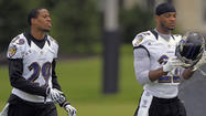 In one corner is a soft-spoken 27-year-old who was the biggest surprise of last year's training camp. Cary Williams, who went undrafted out of Division II Washburn and was later plucked from the Tennessee Titans' practice squad, started every game for the Ravens in 2011.