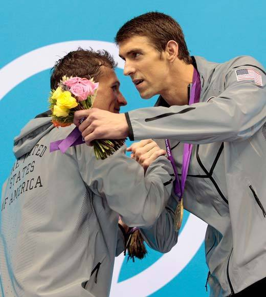 2012 Summer Olympics Best and Worst moments: Michael Phelps already made history at the Summer Olympics by winning his 19th medal, which makes him the most decorated Olympian of all time.  Thursday (Aug. 2) he made history again. By winning the 200m IM, Phelps became the first male swimmer to win the same event at three consecutive Olympic Games. Wow. He also defeated Ryan Lochte in what is most likely their last face-off in the pool.  -- Andrea Reiher, Zap2it