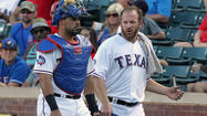 Ex-Cub Dempster allows 8 runs in 1st Rangers start