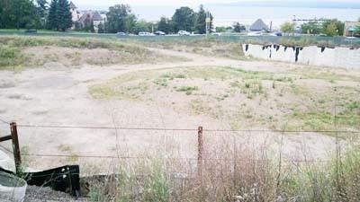 The dormant Petoskey Pointe sites appearance sometimes draws criticism from local residents.