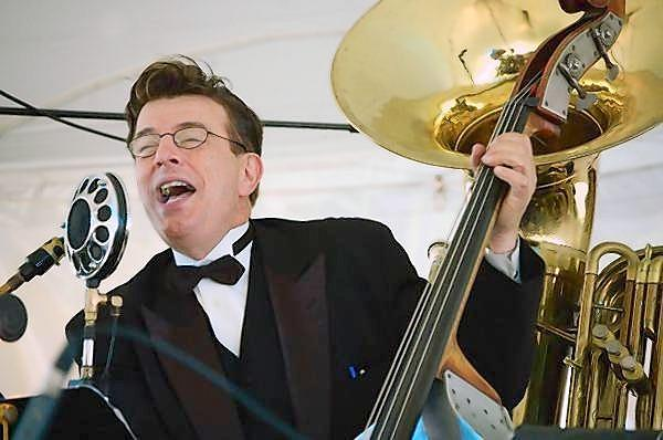 Vince Giordano and the Nighthawks perform Friday, Aug. 10, at the Litchfield Jazz Festival.