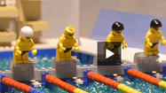 Michael Phelps, Ryan Lochte faceoff redone with Legos