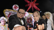 Universal Studios: Penn & Teller prepping Halloween Horror Nights haunted house