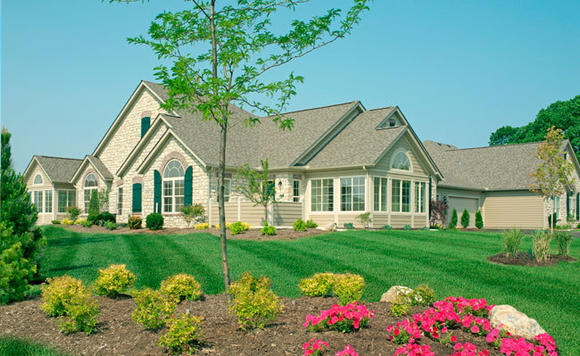 The Maples at the Sonatas in Woodstock offers maintenance-free ranch style homes.
