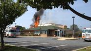 Fire strikes Abingdon Denny's