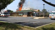 Fire at Abingdon Denny's [Pictures]