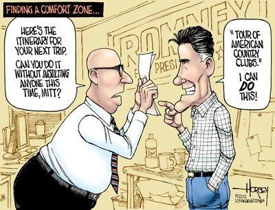 Romney's world tour of gaffes