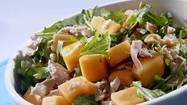 Recipe: Smoked chicken and cantaloupe salad