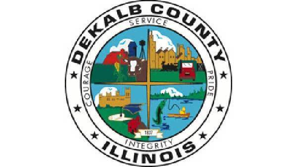 Logo of DeKalb County, Ill.
