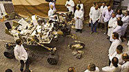 A rover called Curiosity has a date with Mars