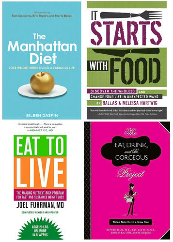 Many new weight-loss books are avoiding the extremes and putting more emphasis on not eating processed foods.