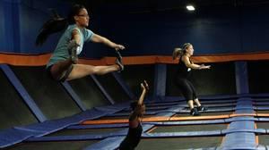Skyrobics, a jump-start for the heart