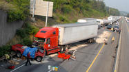 PHOTO: Scene of Fatal Accident on I-78