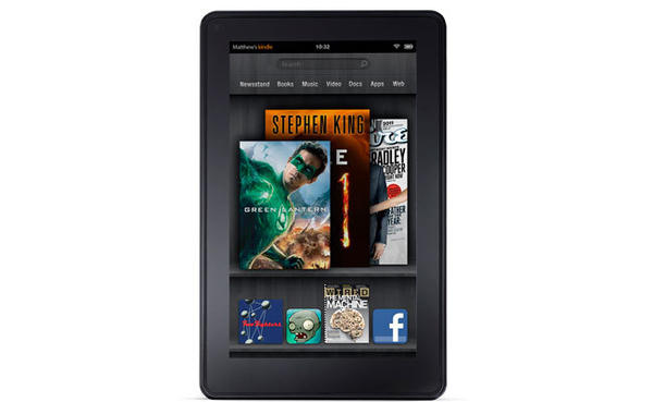 The Kindle is the world's best-selling e-reader, and the Kindle Fire is the Cadillac of Kindles. It brings you the Web, apps, games, movies, books and more in living color with built-in Wi-Fi¿all for less than half the price of an iPad. The 7-inch screen is the size of a paperback book. Retails for $199 at Amazon.com, Staples, and electronics stores.