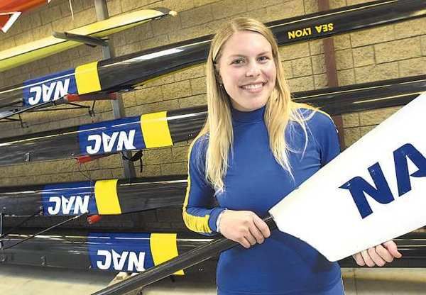 Esther Lofgren, a Newport Harbor High alum, won an Olympic gold medal with the U.S. women's eight in rowing.