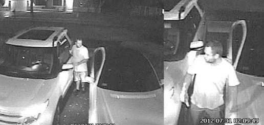 Police are searching for the busy car burglar whos broken into at least five vehicles in the Forest Ridge community