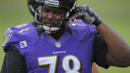 For once, the Ravens got a bit of good news on the health front as left tackle Bryant McKinnie and defensive tackle Haloti Ngata practiced Friday for the first time at training camp.