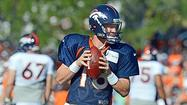 Broncos QB Manning primed for comeback vs. Bears