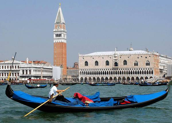 Venetians fear that Pierre Cardin's proposed high-rise building would overshadow St. Mark's iconic bell tower and ruin the atmosphere of Venice.
