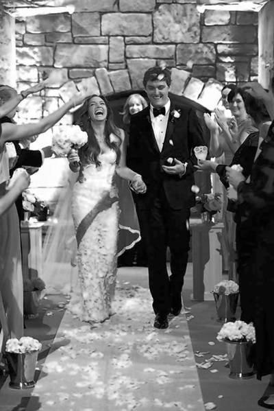 WEDDING BLISS: Newport's Lauren Lyon weds Jack Krawczyk in an elegant summer ceremony in Aspen, Colo.