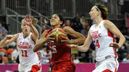 LONDON — Let's play a contest, seeing how, after Czech Republic's sizzling first quarter, the U.S. women's basketball team didn't have much of one Friday night at the Basketball Arena.