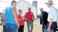 The Somerset County Farm Bureau's annual Legislative Farm Tour dispelled speculations of suffering in the county's agricultural community.