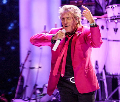 Rod Stewart performs in concert at Amway Center in Orlando, Fla. on Friday, August 03, 2012.