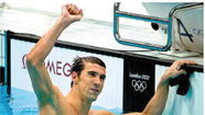 LONDON - Michael Phelps' last individual race at the Olympics ended like so many of the ones before it - with his hands on the wall before everyone else in the pool.
