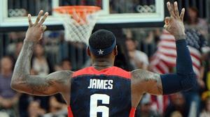 U.S. men's basketball barely gets by Lithuania 99-94