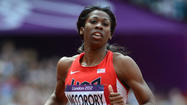 Francena McCorory says she is ready to run the race of her life.