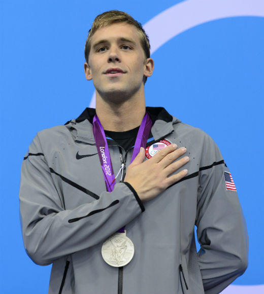 London 2012: Team USA's Gold Medalists: Nick Thoman swam in the preliminaries and the semifinals of the Mens 4 x 100m medley, helping the team to win gold on August 4. He won silver in the Mens 100m backstroke, placing behind teammate Matt Grevers.