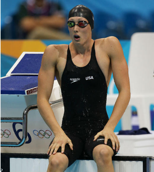 London 2012: Team USA's Gold Medalists: Breeja Larson swam in the preliminaries and the semifinals of the Womens 4 x 100m medley, helping the team to win gold on August 4. She is a junior at Texas A & M.