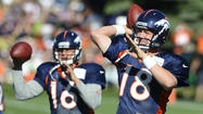 Broncos get jolt of confidence from Manning