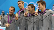 Grevers gets in on Phelps' final gold
