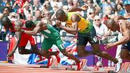 LONDON — They didn't introduce Usain Bolt on Saturday at Olympic Stadium so much as anoint him. And this is a place that knows something about coronations.