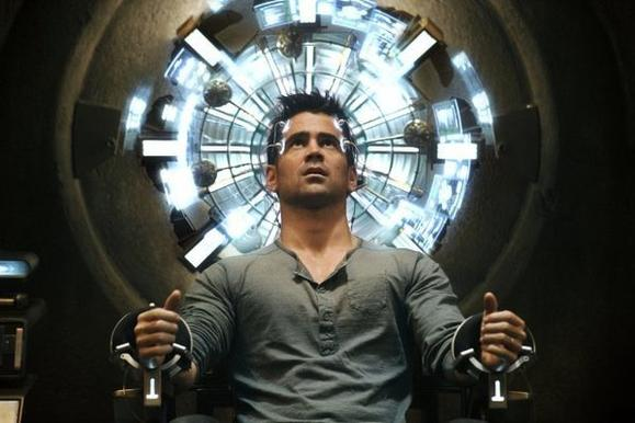"""Total Recall"" lost out to ""The Dark Knight Rises"" at the box office this weekend"