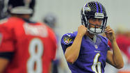 Rookie kicker Justin Tucker doing everything he can to earn spot with the Ravens