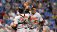 Taylor Teagarden's RBI double in 10th inning gives Orioles 1-0 win over Rays