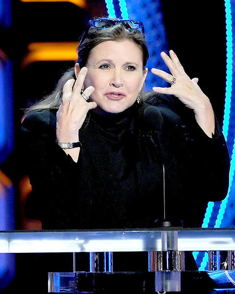 "Carrie Fisher, of ""Star Wars"" fame, makes a point about Roseanne."