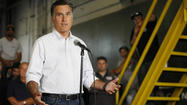 Republican presidential contender Mitt Romney will return to the Chicago area for the second time this summer to pitch the need to restore manufacturing jobs in Elk Grove Village and to raise campaign cash at two downtown fundraisers.