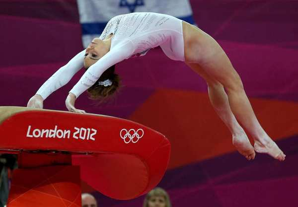 McKayla Maroney of the United States competes in the artistic gymnastics women's vault final at the London 2012 Olympic Games.