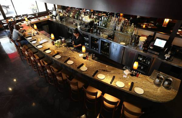 Bar seating is hardly an afterthought at P.F. Chang's on the Near North Side.
