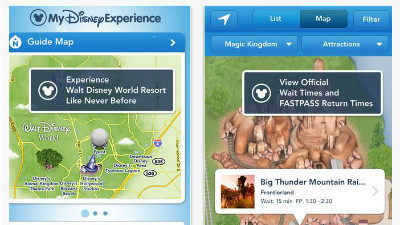 New Walt Disney World iPhone and iPad app gives real-time results on ...