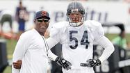 Urlacher to miss exhibition opener