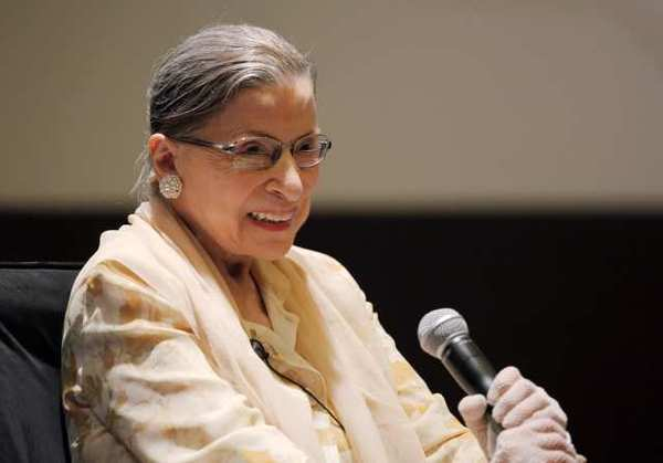 Supreme Court Justice Ruth Bader Ginsburg participated in a panel discussion title