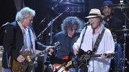"<span style=""font-size: small;"">The highly anticipated Neil Young and Crazy Horse 2012 tour got underway in Albuquerque, NM where fans were treated to something old, something new, something borrowed and sometimes blues. The band launched its first tour since 2003 with a 13-minute version of 1990's ""Love and Only Love"" followed by the concert classic ""Powderfinger."" Next came an unidentified new tune that could possibly wind up on the group's next studio album. Other highlights included Buffalo Springfield's ""Mr. Soul,"" ""Hey Hey, My My and ""Roll Another Number.""</span>"