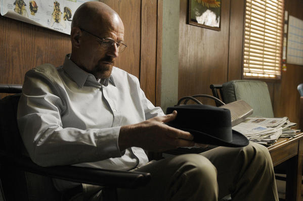 "Walter White (Bryan Cranston) in ""Fifty-One."""